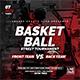 Basketball Street Tournament   Sport Flyer