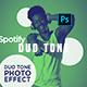 Spotify Duotone - Photoshop Action