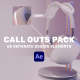 Design Call Outs Pack - VideoHive Item for Sale