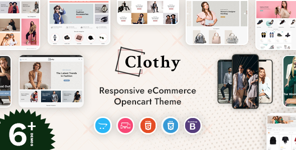 Clothy - Responsive OpenCart Theme