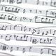 Detail of musical score - PhotoDune Item for Sale