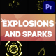 Explosions and Sparks   Premiere Pro MOGRT - VideoHive Item for Sale