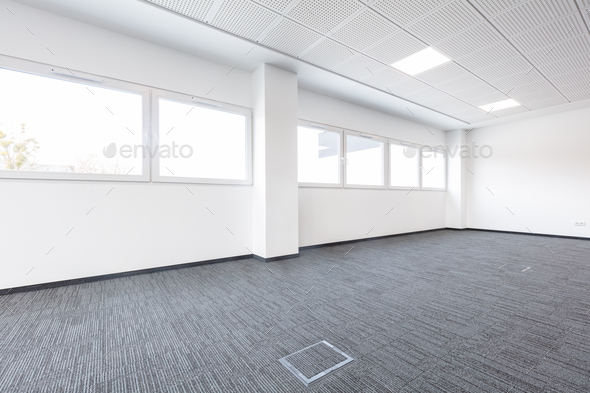 Empty new office for rent - Stock Photo - Images