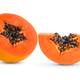 sliced ripe papaya with seed on with background - PhotoDune Item for Sale