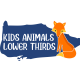 Kids Animals Lower Thirds || FCPX - VideoHive Item for Sale