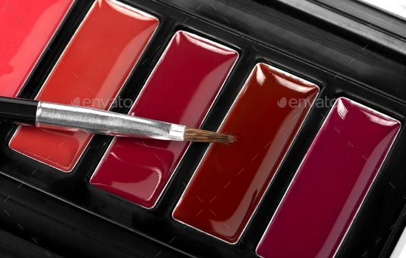Lipstick palette - Stock Photo - Images