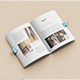 Magazine / Catalog Brochure Mockup