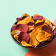 Dried vegetables, dehydrated sweet potato, parsnip, beetroot chips, snacks - PhotoDune Item for Sale