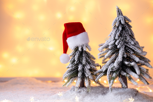 Christmas card template - Stock Photo - Images