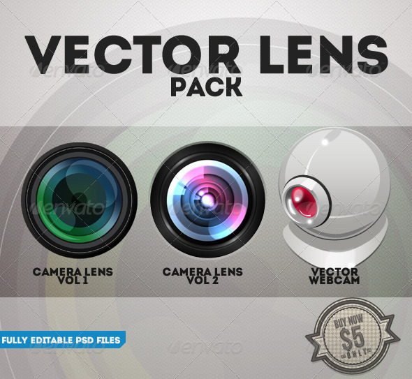 Vector Lens Pack - Miscellaneous Graphics
