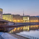 Early in the morning at the river Spree in Berlin - PhotoDune Item for Sale