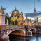 The Cathedral, the TV Tower and the Schlossbruecke in Berlin - PhotoDune Item for Sale