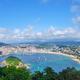 The famous La Concha beach in San Sebastian - PhotoDune Item for Sale