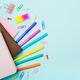 Education, freelancer work desk, back to school - PhotoDune Item for Sale