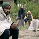 Black Man In Migrant Camp - PhotoDune Item for Sale