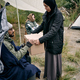 Sharing Stuffs With New Refugee In Camp - PhotoDune Item for Sale