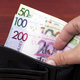 Belarusian money in the black wallet - PhotoDune Item for Sale