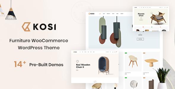 Kosi - Furniture WooCommerce WordPress Theme Free Download Lastes Version