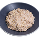 kasha from green buckwheat in gray bowl isolated - PhotoDune Item for Sale