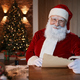 Smiling Santa In Living Room - PhotoDune Item for Sale