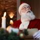 Pensive Santa Writing Letter - PhotoDune Item for Sale