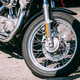Motorcycle Front wheel close up - PhotoDune Item for Sale