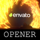 Cinematic Fire Opener - VideoHive Item for Sale