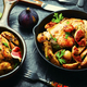 Chicken baked with potatoes and figs - PhotoDune Item for Sale
