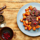 Veal meat with vegetables - PhotoDune Item for Sale