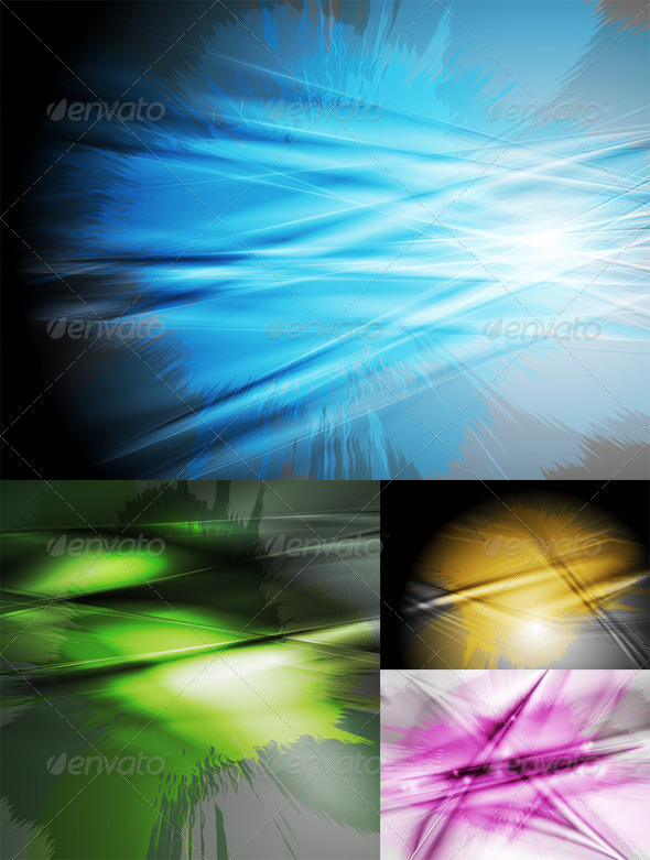 Dark colourful backgrounds. Grunge style. - Backgrounds Decorative