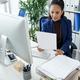 Entrepreneur Analyzing Data in Sales Report - PhotoDune Item for Sale