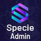 Specie - Cryptocurrency Admin Dashboard Template