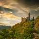 Maus Castle at sunset, Rhine Valley, Germany - PhotoDune Item for Sale