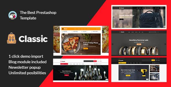 Classic Bag  Fashion -  Jewellery Pizza Tool Multipurpose Prestashop Responsive Theme