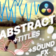Flash FX Abstract Elements And Titles | DaVinci Resolve - VideoHive Item for Sale