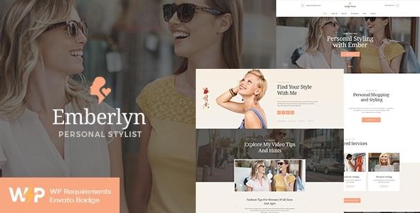 Emberlyn | Personal Stylist & Fashion Clothing WordPress Theme
