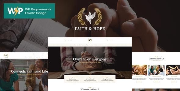 Fabulous Faith & Hope | A Modern Church & Religion Non-Profit WordPress Theme