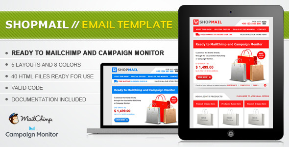 Shop Mail  Html Email Template By JanioAraujo  Themeforest