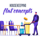 Housekeeping - Flat Concept - VideoHive Item for Sale