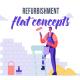 Refurbishment - Flat Concept - VideoHive Item for Sale