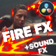 Fire Elements Pack | DaVinci Resolve - VideoHive Item for Sale