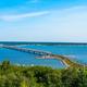 A bridge across the Volga river  in Ulyanovsk, Russia. - PhotoDune Item for Sale