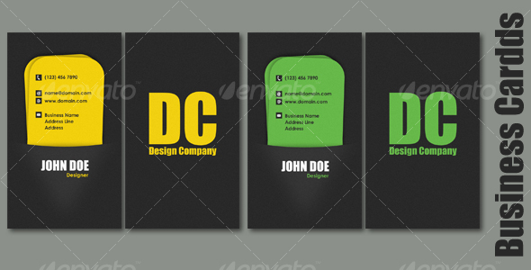 Pocket Business Card - Creative Business Cards