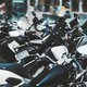 Plenty of motorcycles parked outdoors - PhotoDune Item for Sale