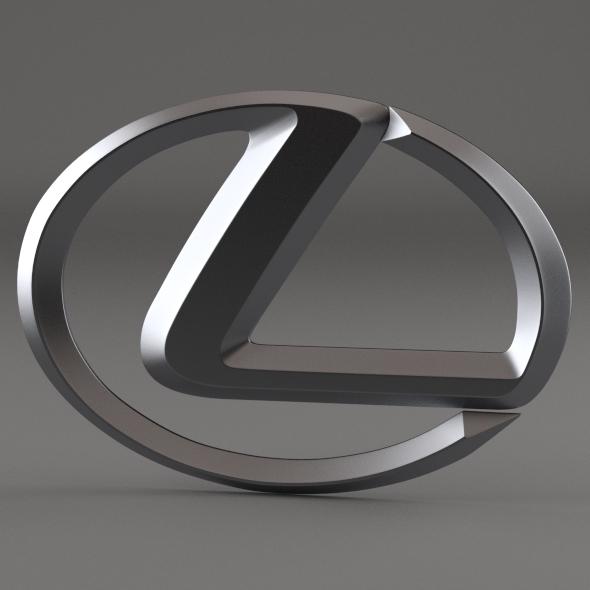 Lexus Logo By Niosdark 3docean