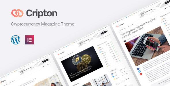 Super Cripton | Cryptocurrency Elementor Magazine WordPress Theme