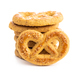 Sweet cookies in the shape of a pretzel - PhotoDune Item for Sale