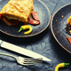 meat pie with sausage - PhotoDune Item for Sale