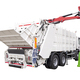 Brand New White colored Garbage Truck Isolated over white background - PhotoDune Item for Sale