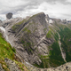 Views of peaks and waterfalls fromKattanakken, Jostedalsbreen National Park, Norway. - PhotoDune Item for Sale